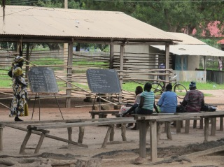 Afternoon literacy class, Diocese of Rumbek, South Sudan