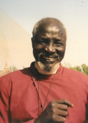 Nathaniel Garang Anyieth, first Anglican bishop of Bor, c. 1992