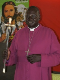 Ruben Akurdit Ngong, bishop of Bor, April 2013