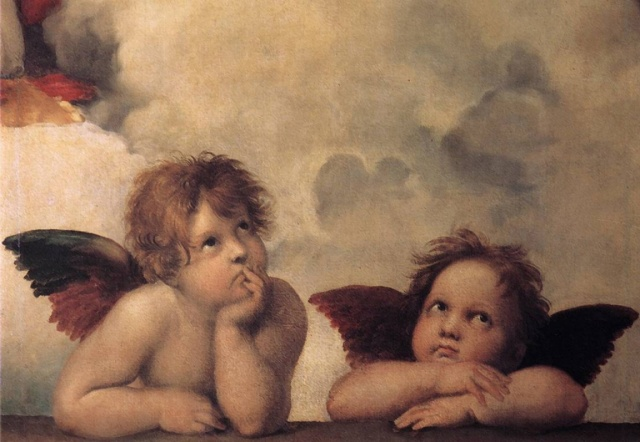 Raphaels-angels-cherubs